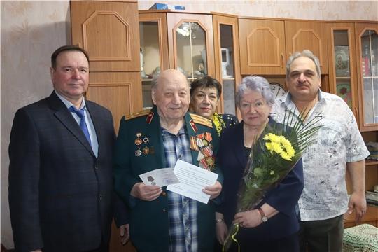 В день своего 95-летия алатырец Н.Н. Ларин получил персональное поздравление от Президента России с юбилеем и памятную медаль «75 лет Победы в Великой Отечественной войне»