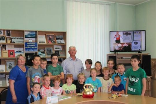 70-летний юбилей отметил прославленный спортсмен, Почётный гражданин города Алатыря В.И. Притуленко