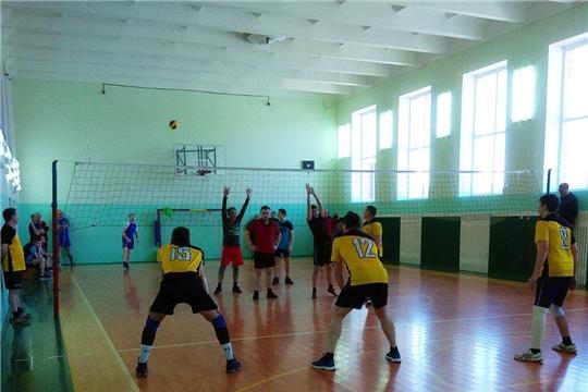 Огнеборцы из Алатыря – призёры волейбольного турнира