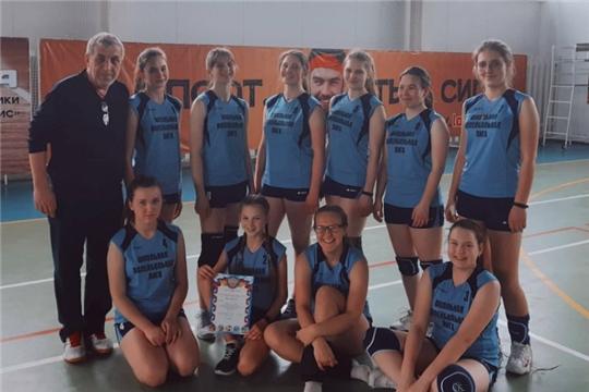 Алатырские волейболисты вышли в финал X Чемпионата школьной волейбольной лиги Чувашии
