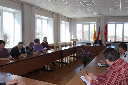 Встречи главы администрации города Алатыря В.И. Степанова с руководителями предприятий, организаций и учреждений