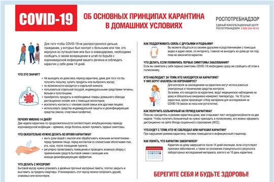 Об обеспечении режима изоляции в целях предотвращения новой коронавирусной инфекции