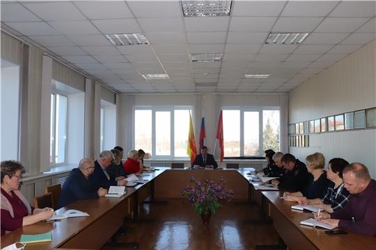 В Алатыре состоялось организационное совещание по недопущению завоза и распространения новой коронавирусной инфекции