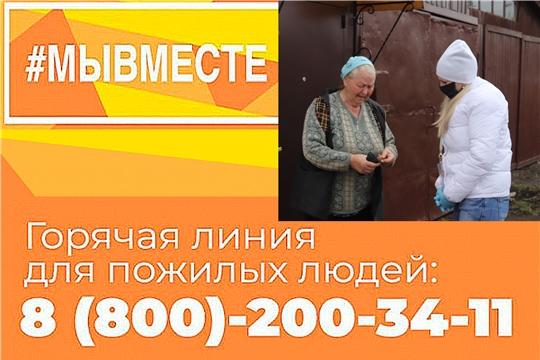 Пожилым людям и тем, кто страдает хроническими заболеваниями, в Алатыре помогают волонтёры