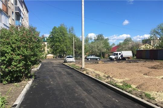 г. Алатырь: двор на Урицкого будет первым сдан в эксплуатацию после ремонта