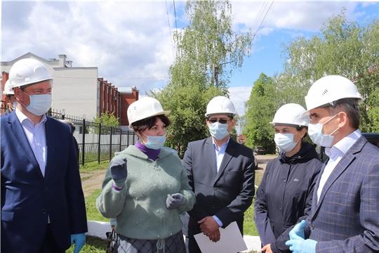 С рабочим визитом в Алатыре побывал врио Главы Чувашии О.А. Николаев