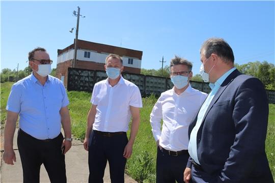 г. Алатырь: проблемы станции первого подъёма МУП «Водоканал» обсудили с представителями руководства республики