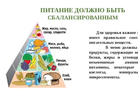 Питание должно быть правильным с детства