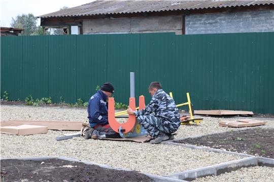 г. Алатырь: завершаются работы по благоустройству сквера в районе бывшего пожарного пруда по улице Гагарина