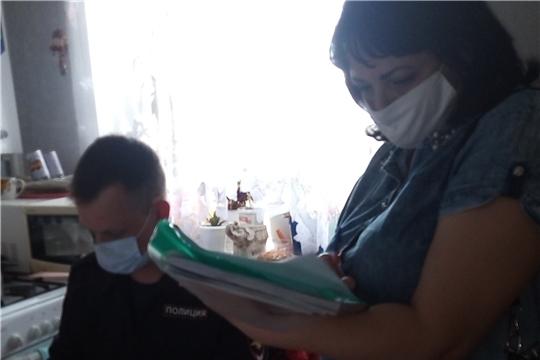 В Алатыре прошла оперативно-профилактическая акция «Дети и транспорт»