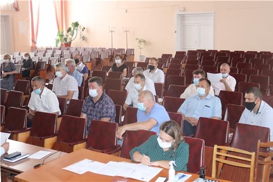 Актуальные вопросы рассмотрены на очередном заседании Собрания депутатов города Алатыря