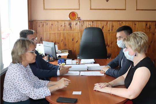 Рабочий визит в Алатырь министра образования и молодёжной политики Чувашской Республики Сергея Яковлева