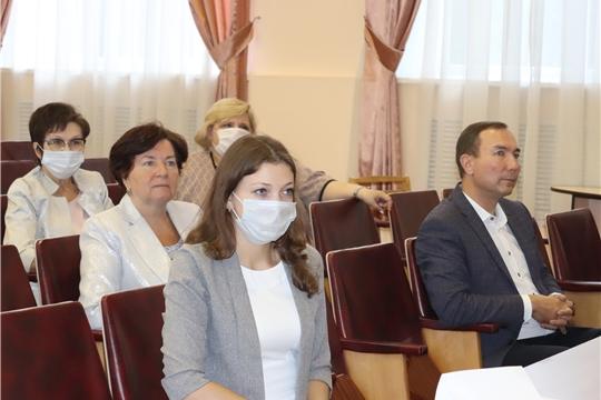 Рабочий визит министра культуры, по делам национальностей и архивного дела Чувашии Р.М. Лизаковой в Алатырь