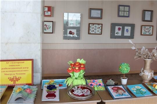В Алатыре в рамках XI Межрегионального культурно-благотворительного фестиваля творчества инвалидов «Во имя жизни» состоялось торжественное открытие двух выставок
