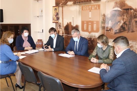 Рабочий визит министра промышленности и энергетики Чувашии Е.Р. Герасимова в Алатырь