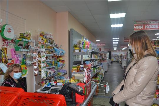 Очередные рейды по проверке соблюдения «масочного» режима в Алатыре
