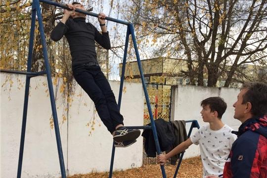 Второй этап  Всероссийского физкультурно-спортивного комплекса «ГТО» среди школьников в Алатыре
