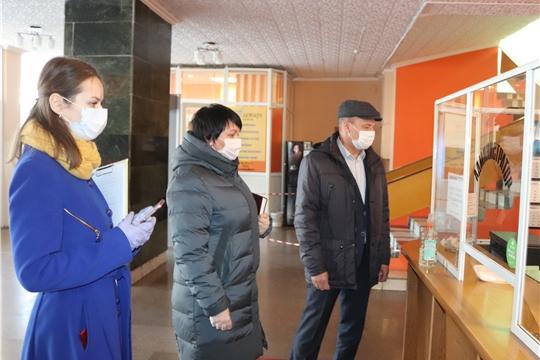 Глава администрации города Алатыря С.А. Лукишин принял участие в рейде