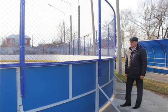 Рабочая поездка по городу главы администрации города Алатыря С.А. Лукишина