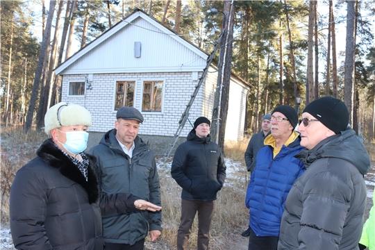 С рабочим визитом в Алатыре побывал министр физической культуры и спорта Чувашии В.В. Петров