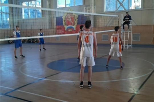 Первенство города по волейболу в зачёт Спартакиады школьников в Алатыре