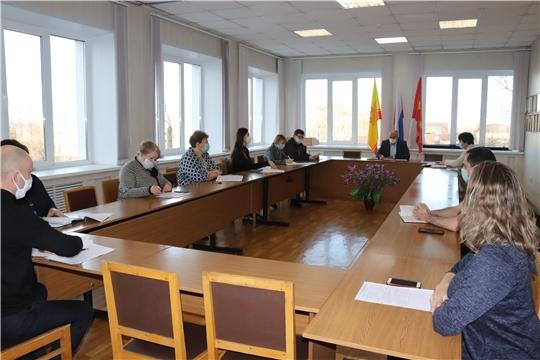 Очередное заседание межведомственной комиссии по вопросам своевременности и полноты выплаты заработной платы, снижения неформальной занятости в администрации города Алатыря