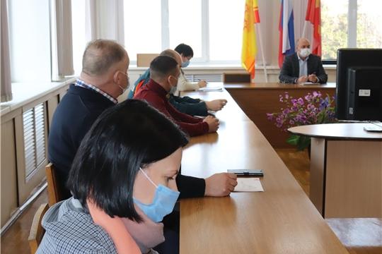 Очередное заседание оперативного штаба по вопросу предупреждения, завоза и распространения новой коронавирусной инфекции на территории Алатыря