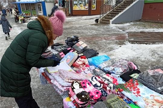 На улицах Московского района г. Чебоксары пресечена нелегальная торговля