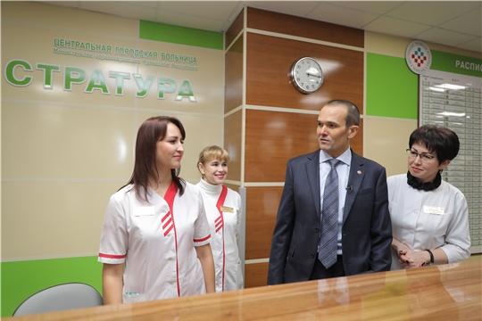 В столице Чувашии открылась многопрофильная поликлиника на 500 посещений в смену