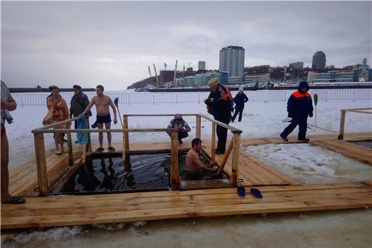 Меры безопасности при купании во время празднования Крещения Господня