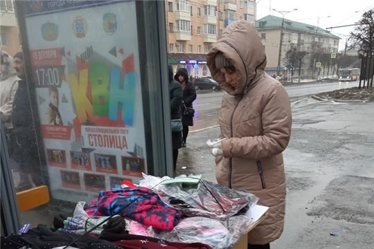 Несанкционированная торговля на территории Ленинского района находится на постоянном контроле администрации