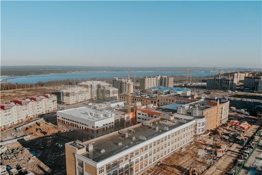 Одна из самых больших школ в ПФО откроется в Чебоксарах в текущем году