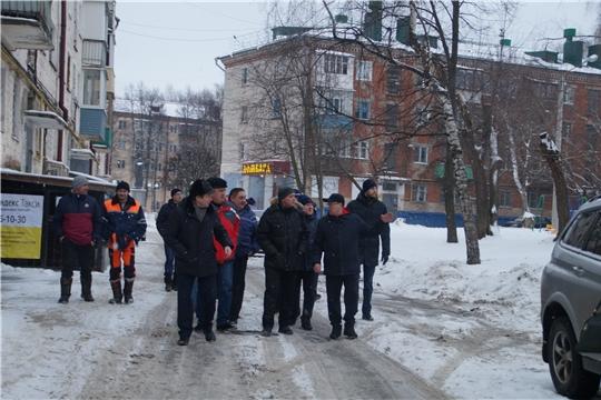 Традиционный обход территорий состоялся в Калининском районе столицы