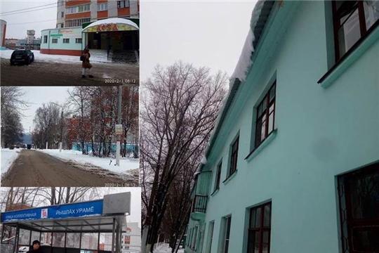 В Московском районе г. Чебоксары проведен обход территории на предмет благоустройства