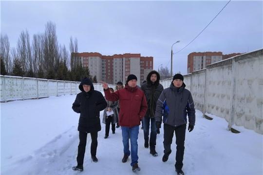 В Ленинском районе состоялся обход территорий