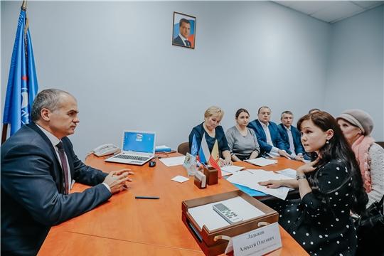Глава администрации города Чебоксары Алексей Ладыков провел прием граждан по личным вопросам