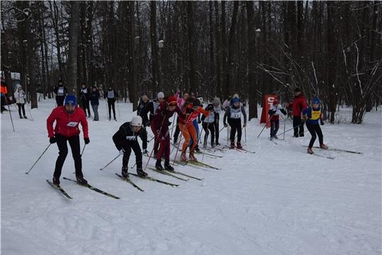 Определились победители и призеры первенства Московского района г.Чебоксары по смешанным лыжным эстафетам