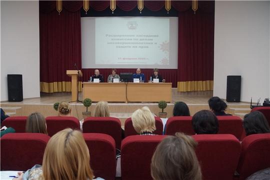 Расширенное заседание комиссии по делам несовершеннолетних проведено в Ленинском районе Чебоксар