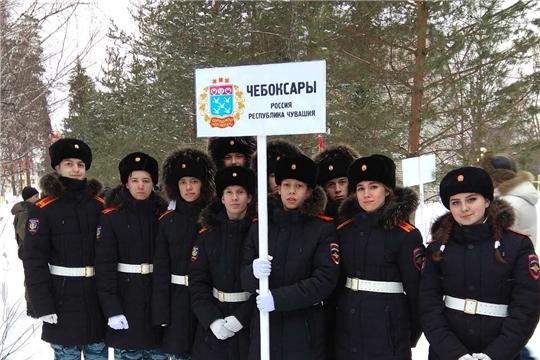 «Равнение на Победу!»: учащиеся чебоксарской Кадетской школы – участники Международного слета юных патриотов