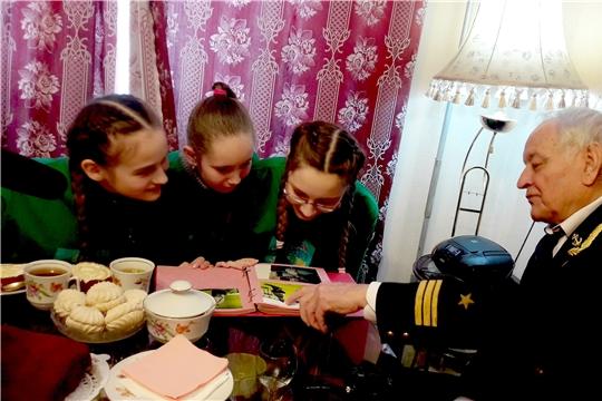 «75 славных дел ко Дню Победы»: волонтеры чебоксарских школ бережно хранят память о войне и ее героях