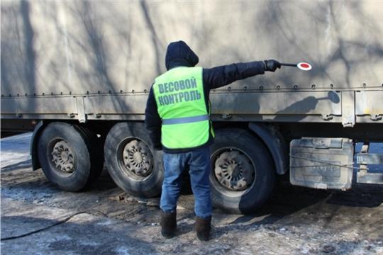 С 20 марта ограничивается въезд грузовых автомобилей на дороги города Чебоксары