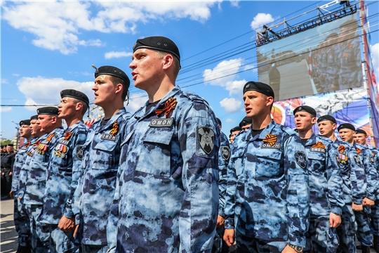 Руководство города Чебоксары поздравляет с Днем защитника Отечества