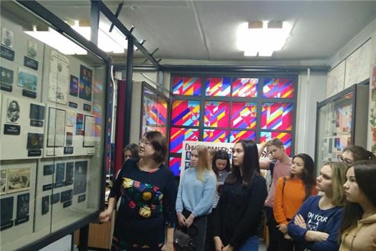 75 лет – Великой Победе: в Музее боевой и трудовой славы ЧГУ им. И.Н. Ульянова проходят уроки мужества