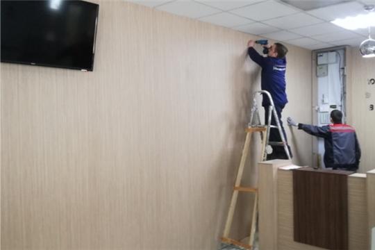 В ДК «Салют» проходят оформительские и ремонтные работы