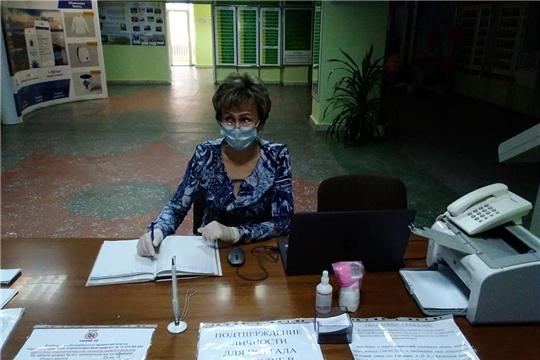 В администрации Ленинского района на время ограничения личного приема граждан организован консультационный пункт
