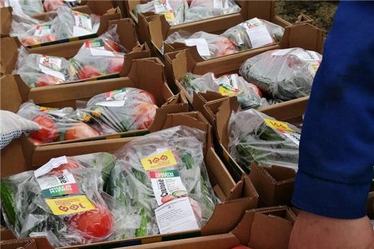#Времяпомогать: продуктовые наборы  пожилым доставили активисты волонтерских территориальных центров Чебоксар
