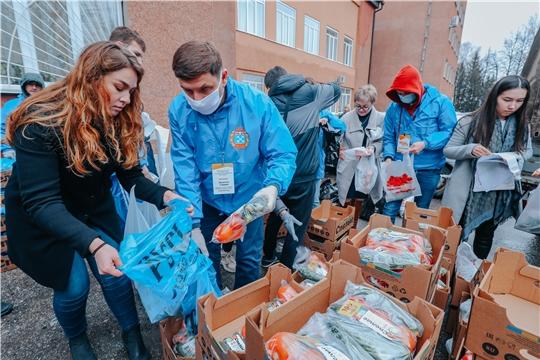 Предприятия и волонтеры Чебоксар объединились, чтобы помочь горожанам старше 65 лет
