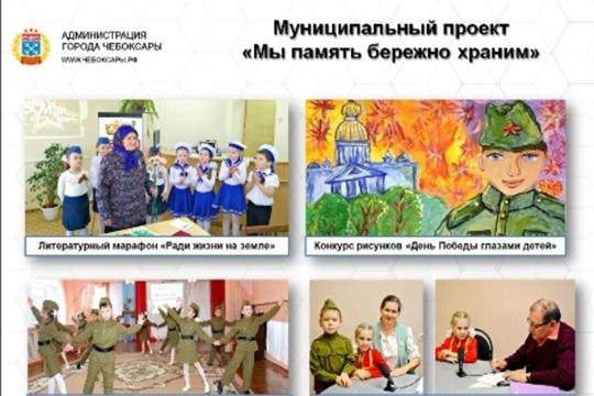 В образовательных организациях г.Чебоксары ведется подготовка к празднованию 75-летия Победы в Великой Отечественной войне