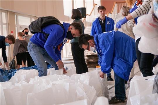 Новые предприятия и волонтеры Чебоксар объединились для помощи горожанам старше 65 лет