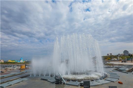 Масштабная реконструкция Красной площади Чебоксар идет по графику